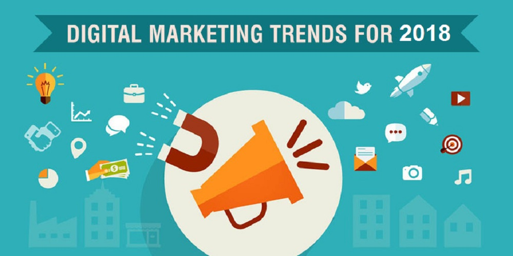 , Digital Marketing Trends in 2018